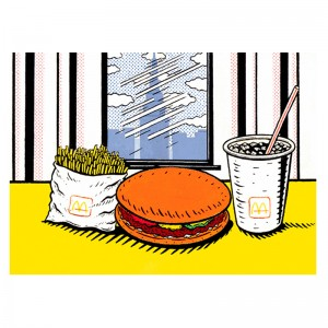 Lichtenstein's Lunch